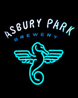 Asbury Park Brewery sign.