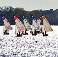 In competition: OCC's 420 Fleet Races