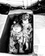 Dolls in a box, Alameda, August 2015